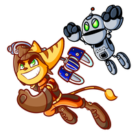 Ratchet and Clank by JamesmanTheRegenold