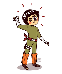 Rock Lee by Wi-Fu