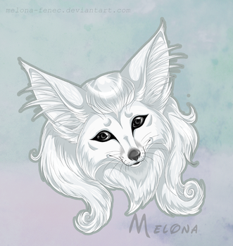 white and cute by Melona-F