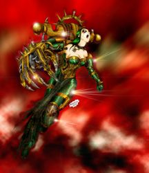 CHAOS LADY ATTACK by Axcido