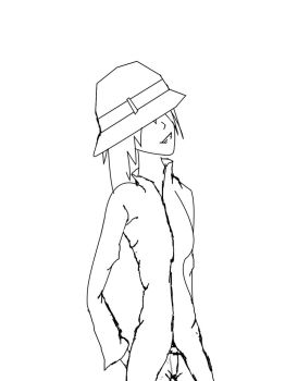 Interrobang WIP...not colored. by Ankh-of-chiaroscuro