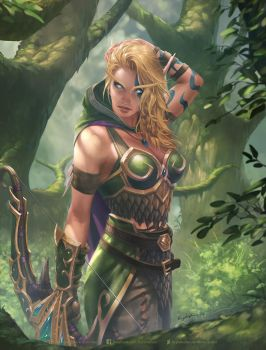 Alleria Windrunner by krysdecker
