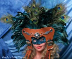 Aztec-Styled Deer Skin Mask by CostumeSalon