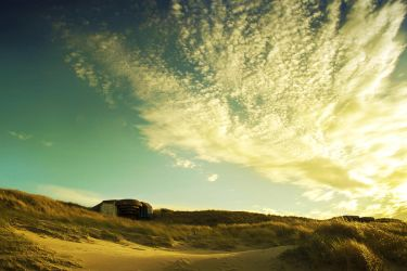 Sand and Sky by ArjenCalter