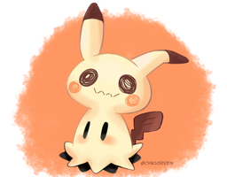 Another mimikyu by Chikuseren