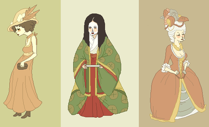 historic clothes by ikoe