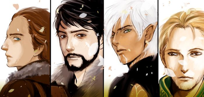 Favorite characters! by go-ma