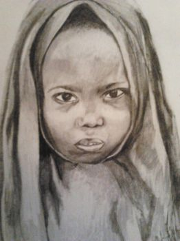 African child by AlbertWinter