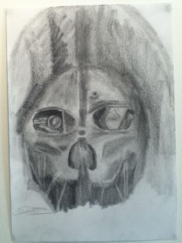 Corvo The Assassin:Dishonored by HornedBaron
