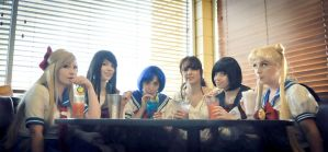 Sailor Moon: The Cafe by WindoftheStars