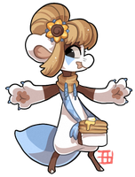 #457 Blessed Nomnom Bagbean CTA #4 - Pancakes by griffsnuff