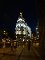 Gran Via Metropolis building by MariuszMz