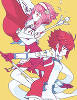 Hoshido Sisters by milleto