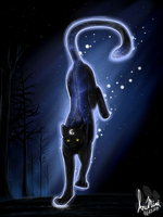 Celestial Panther by InuMimi