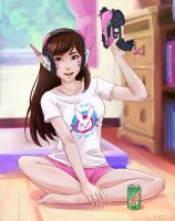 Nerf This! coloured by Farisato