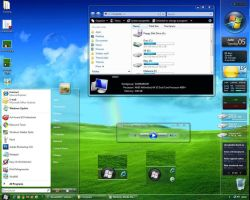 Maxclear V3.1 theme for Vista by sonicexcess