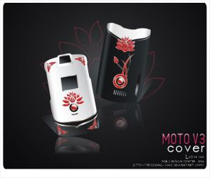 MOTO V3 COVER DESIGN by Bleeding-Love