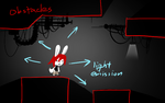 Photon Bunny - Lights and Shadows by cjcat2266