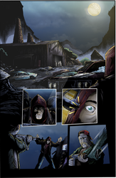 Sequential Coloring The Changer # 1 Page 29 by BouncieD