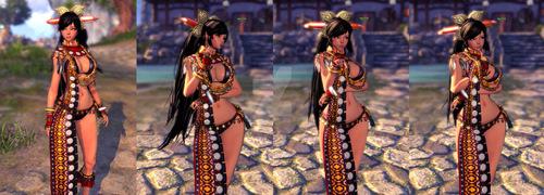 Blade and Soul - Force Master by DemonGoddessSlayer
