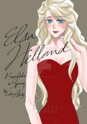 Elsa Helland from A Snowflake in Spring by LORELEI-LilyPrincess
