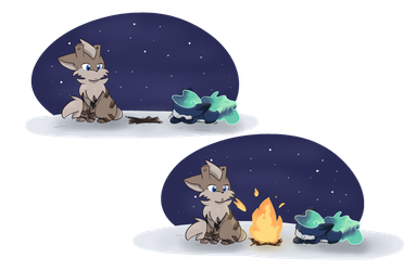 [PKMNation] Fire and Ice :: June Event Week 1 by Kanarinchu