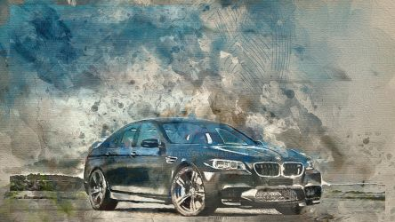 BMW m5 sedan f10 002 by alexartro