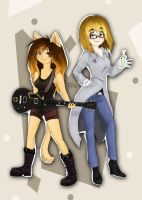 AG and Tanner by NinjaTanner