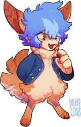 #249 Charity Fornlee w/m - Pomeranian (CLOSED) by Kitkabean