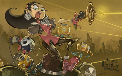 Tron Bonne - Another Misadventure by BrendanCorris