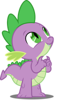 Vector #597 - Spike #18 by DashieSparkle