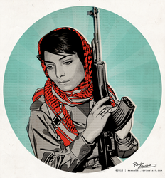 Leila Khaled by Rawan091
