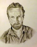 Rick Grimes, Walking Dead by Ngrace80