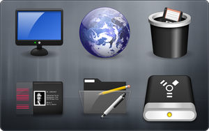 NX05 For IconPackager by ipholio