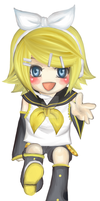 Bookmark Set: Kagamine Rin by Jika-Jika