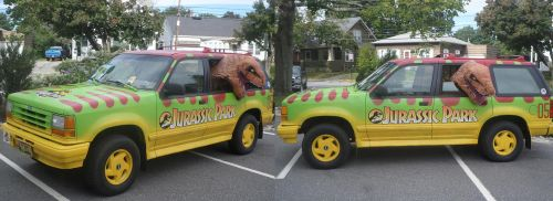 Jurassic Park Vehicle by MLBlue