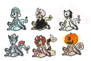 clawmaw babies collab auction. - open- by OfficerMittens
