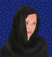 hijab by Ahmed-Rashad-Art