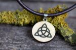 Triquetra necklace (Charmed) by Pia-CZ