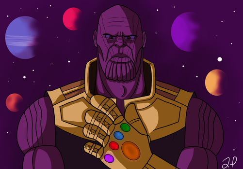 Thanos by ThaMystic