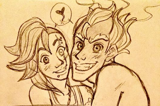Overwatch - Say Cheese Love! by La-Mishi-Mish