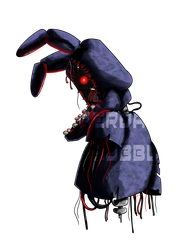 Withered Bonnie by Wolf-Shadow77