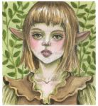 Wood Elf by Leochi
