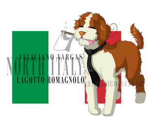 REVAMPHetalia Dogs: NItaly by snickerdoots