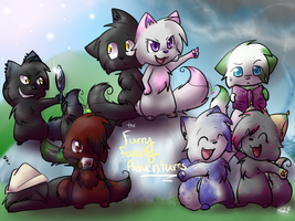 .:The Furry Family Adventures::. by Kitzophrenic