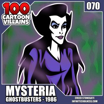 100 Cartoon Villains - 070 - Mysteria! by CreedStonegate