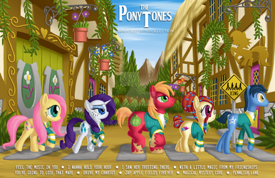 The PonyTones by Dusk-Watch