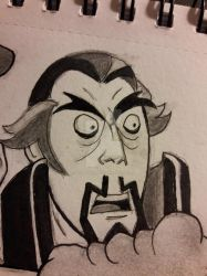 Doctor Orpheus The Venture Bros Inktober Day 31 by DoctorFantastic