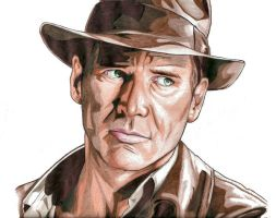 Indiana Jones by urfavoriteartist