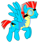 Blaze Wonderbolt by LyricArchive
